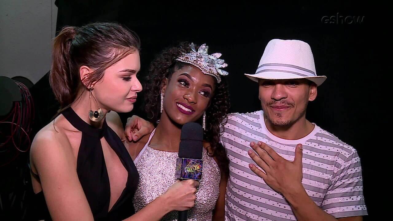 Dani Calabresa, Erika Januza e Leo Jaime comentam emoção da final