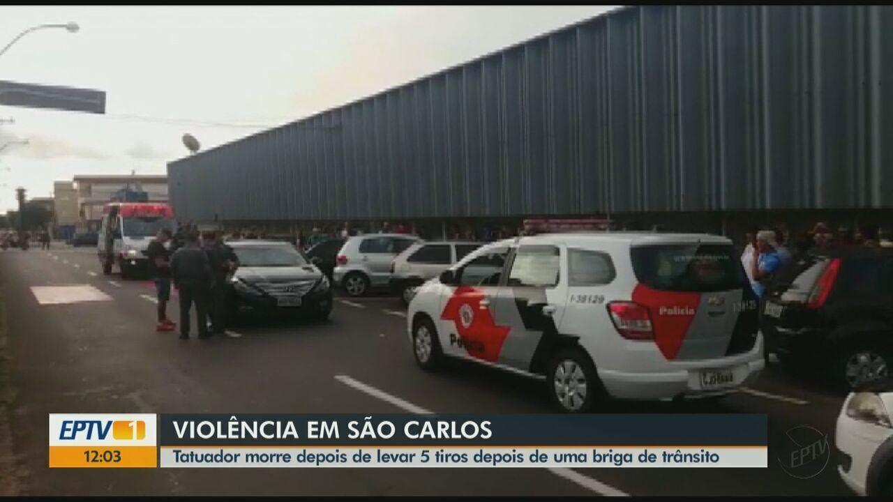 Tatuador morre após levar tiros em briga de trânsito em São Carlos