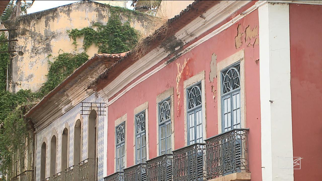 Casarões do Centro Histórico de São Luís apresentam nível de degradação