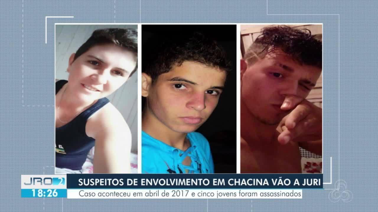 Dois suspeitos de participarem de chacina em Cabixi vão a juri
