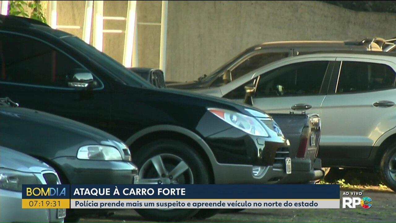 Polícia prende mais um suspeito de tentar assaltar carro-forte em Rolândia
