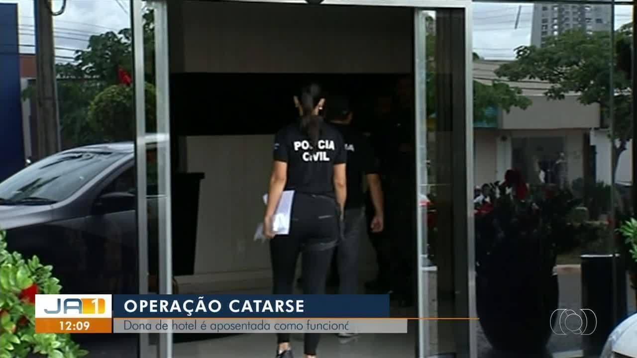 Operação Catarse: Dona de hotel é apontada pela polícia como funcionária fantasma