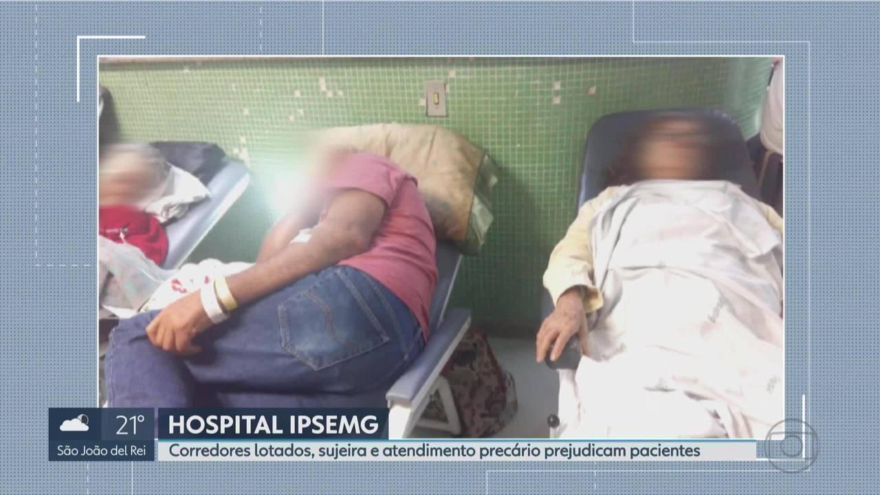 Pacientes do Ipsemg reclamam de descaso no hospital em BH