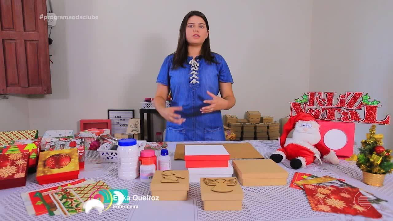 Enfermeira e artesã manda ver em caixas criativas para encantar e presentear