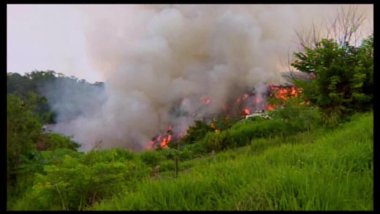 Focos de incêndio são registrados no aterro sanitário de Nova Serrana