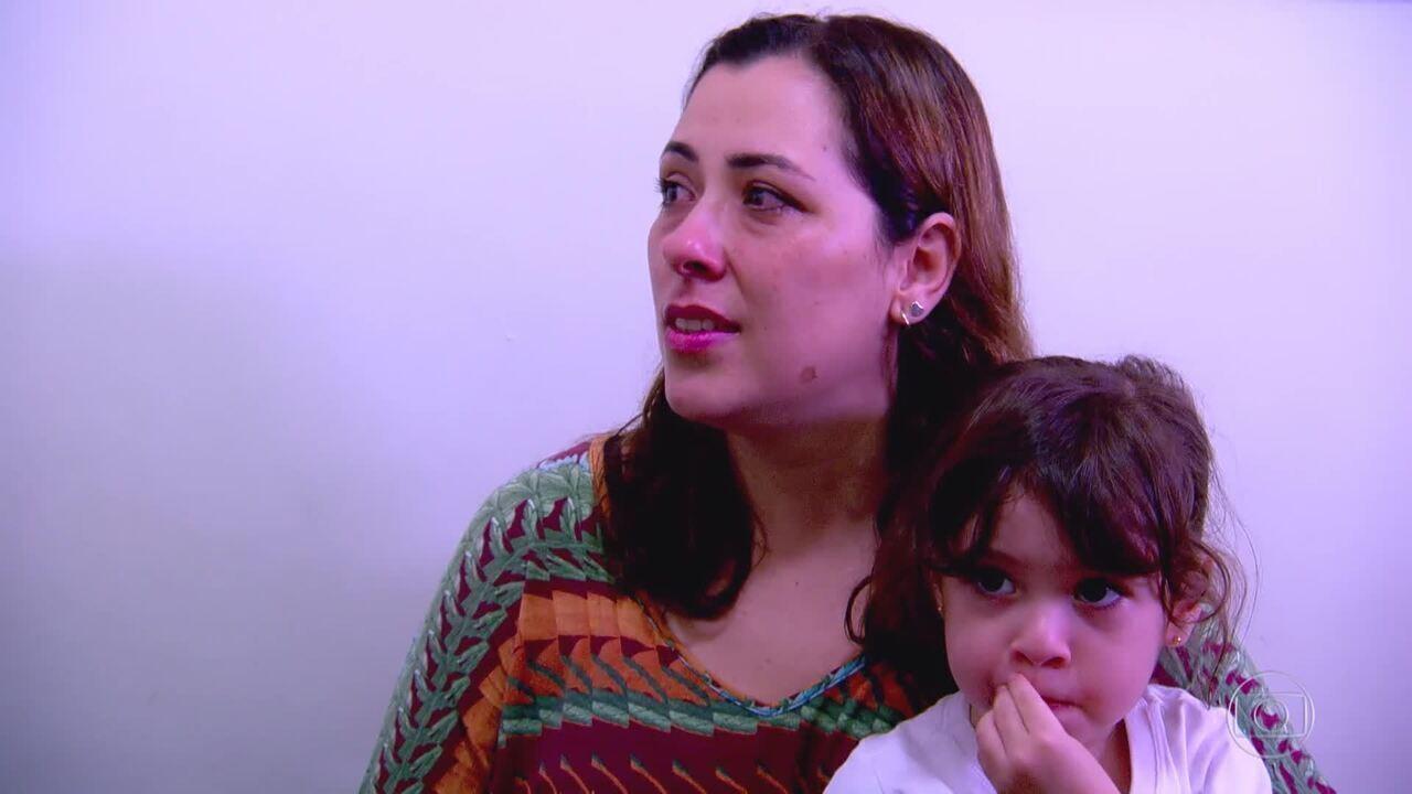 O quadro ´Encontrar Alguém´ traz a história de Aline, que tem o sonho de reencontrar o pai