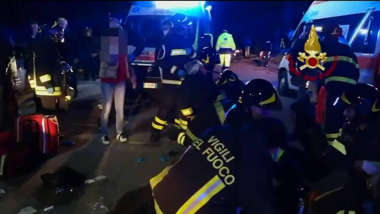Tumulto em casa noturna da Itália deixa seis mortos e mais de 100 feridos