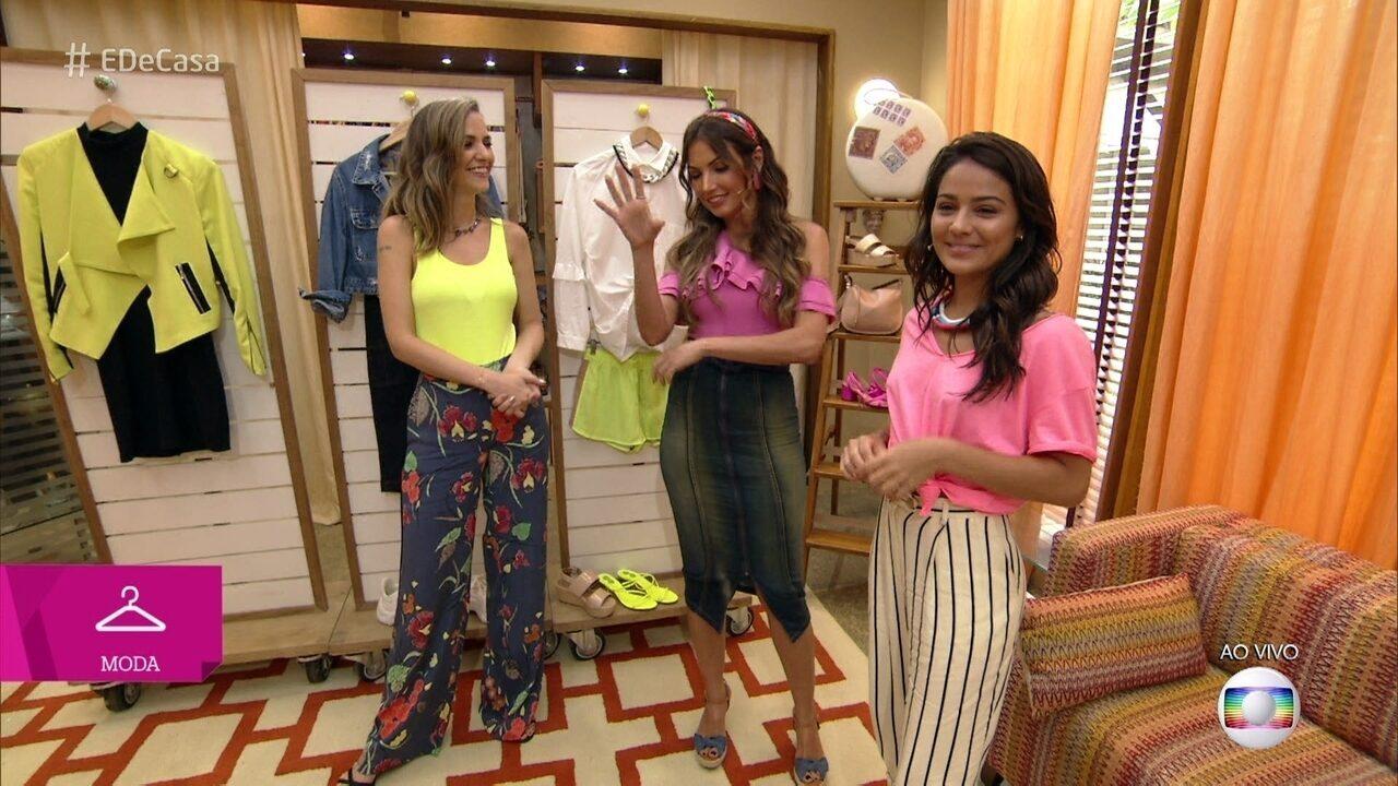 Consultora de moda dá dicas para montar looks com peças neon