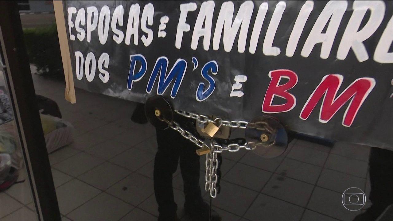 Funcionários públicos de Roraima fazem greve após anúncio de intervenção federal