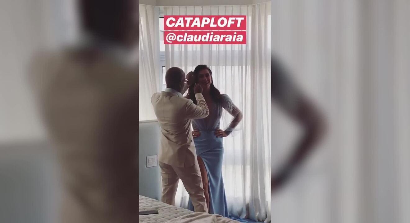 Veja o vestido de casamento de Cláudia Raia