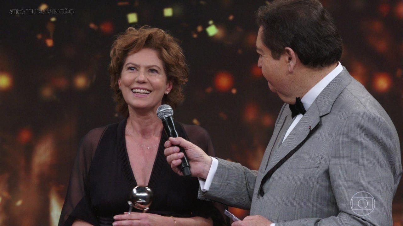 Patricia Pillar é a grande vencedora para 'Atriz de Série'