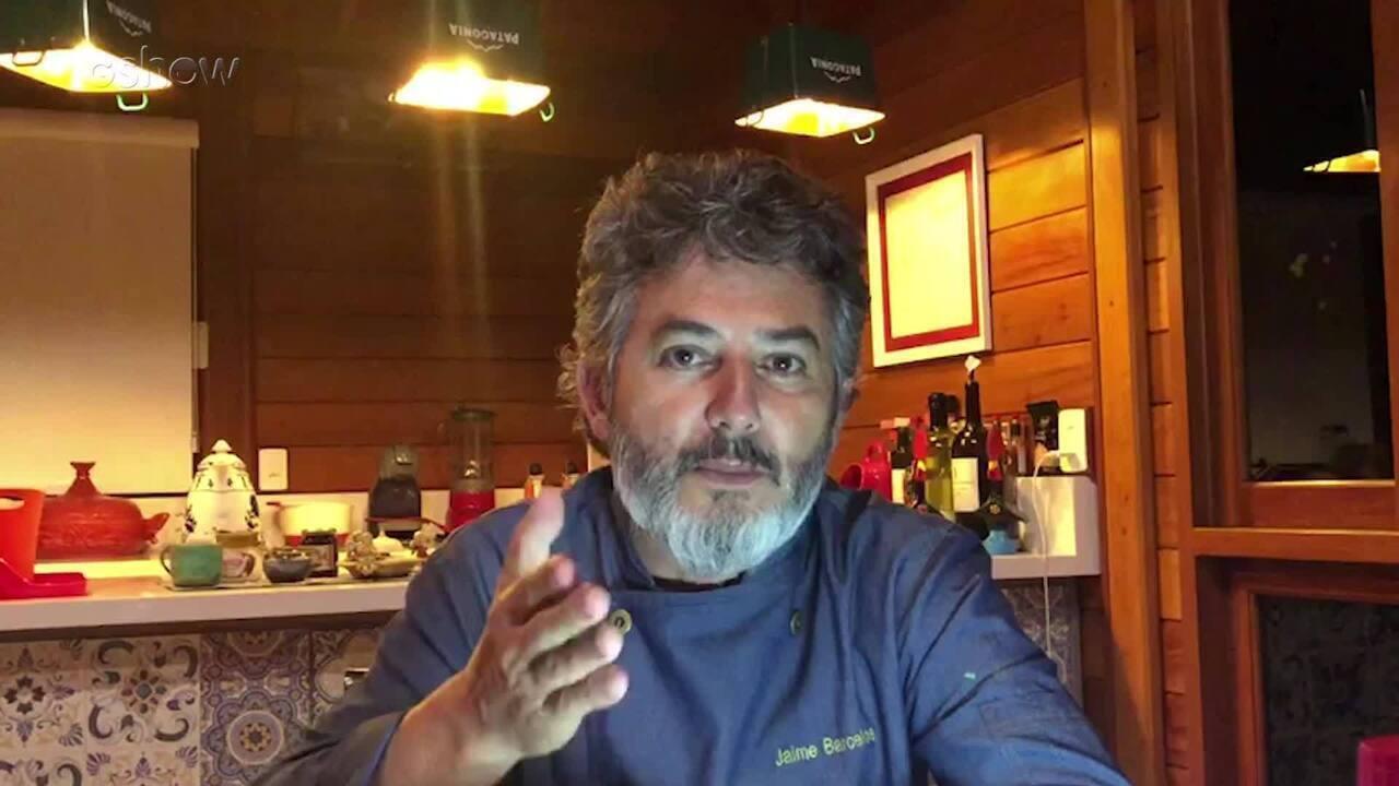 Chef Jaime Barcelos da dicas para o jantar de Luciano