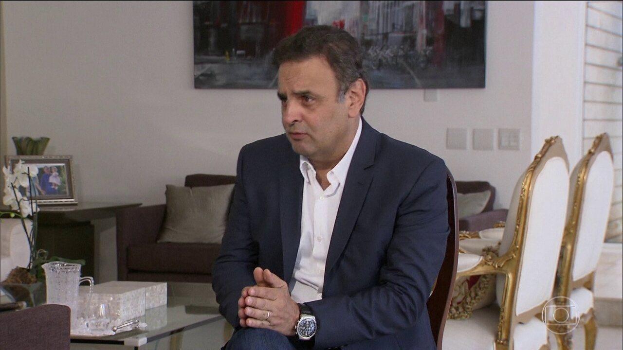 PF investiga suposta compra de apoio político à campanha de Aécio em 2014