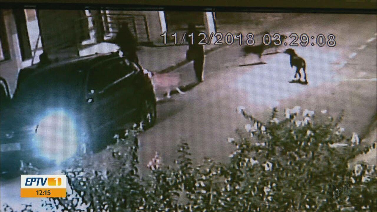 Câmeras flagram quadrilha que explodiu caixas em três bancos em Tambaú