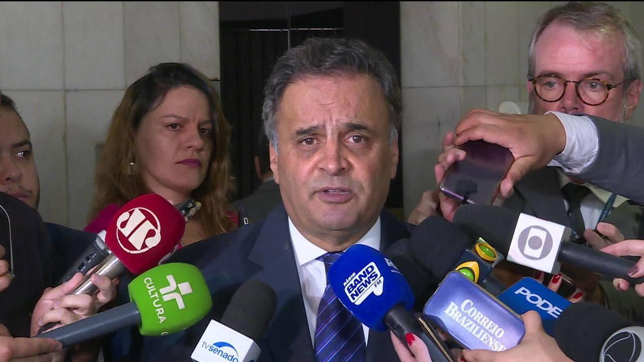 Aécio Neves rebate denúncia de que teria recebido R$ 110 milhões do Grupo J&F