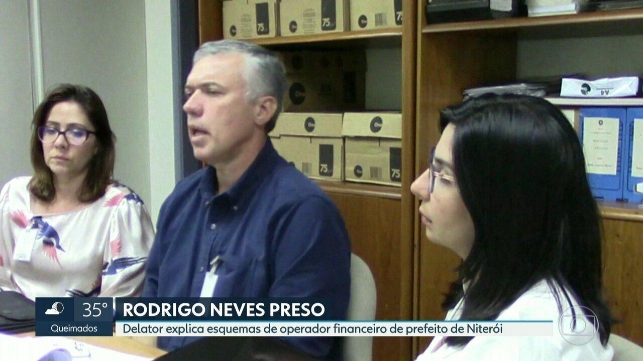 Ex-dirigente da Fetranspor detalha esquema de propina com operador de prefeito de Niterói