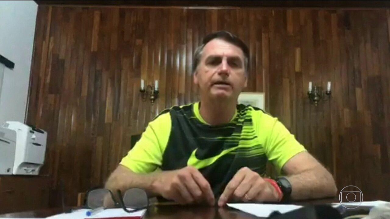 Jair Bolsonaro defende mudanças na lei trabalhista que aproxime mercado da informalidade