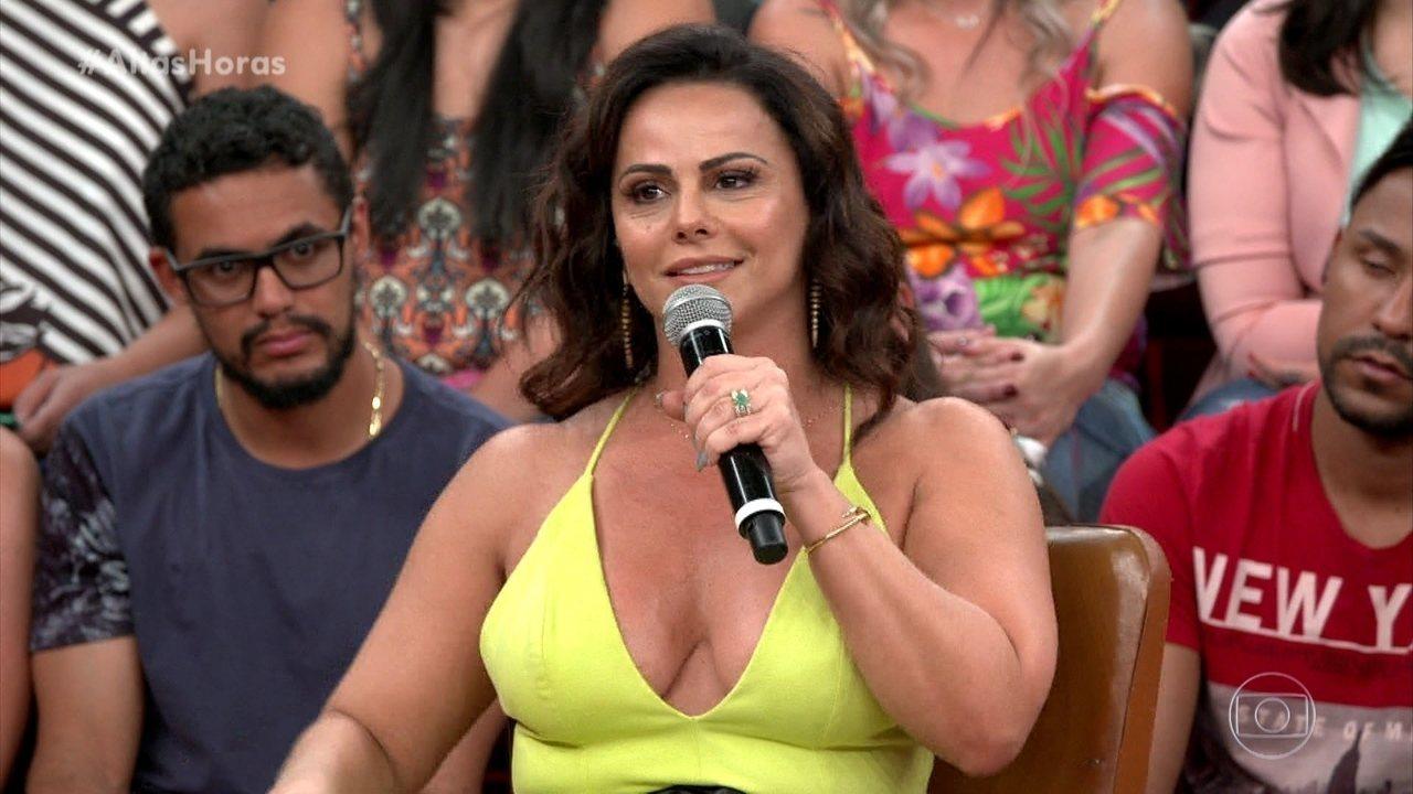 Viviane Araújo fala sobre suas profissões antes de se tornar atriz