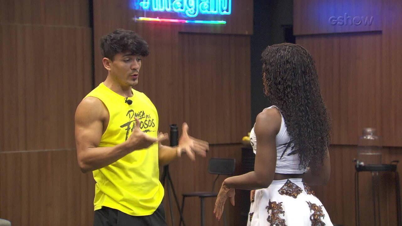 Confira ensaio da Erika Januza para final do 'Dança dos Famosos'