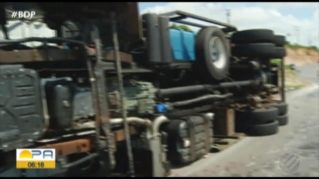 Acidente na rodovia Belém-Brasília termina com uma morte