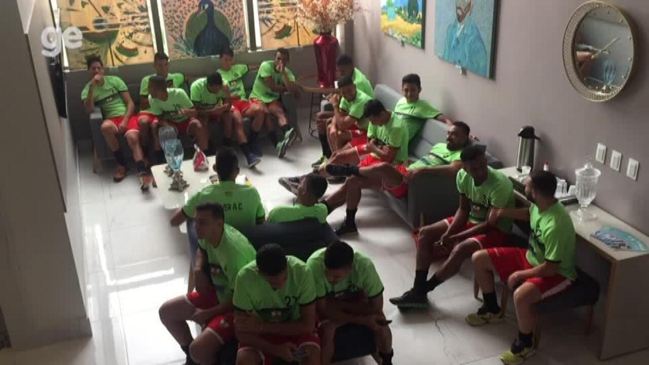 Atletas do River-PI realizam exames médicos em para iniciar pré-temporada