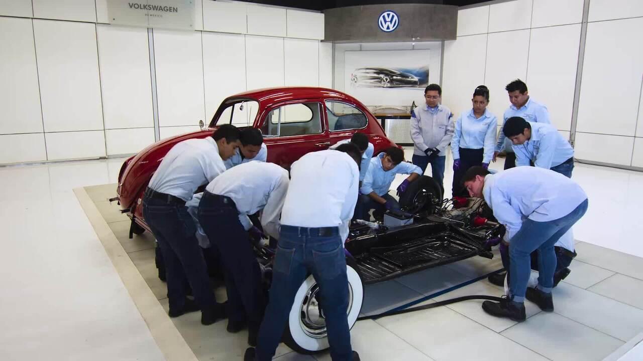 Fusca 1967 é restaurado: veja a montagem final