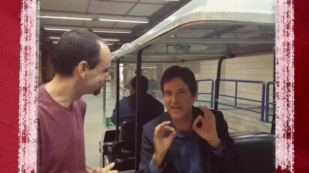 'Entrevista no Carrinho': Antônio Fragoso participa de quadro do 'Zorra'