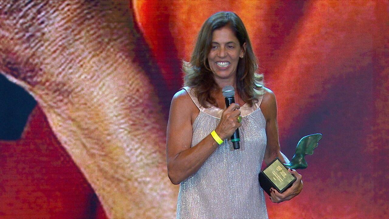 Jackie Silva conquista o troféu Adhemar Ferreira da Silva