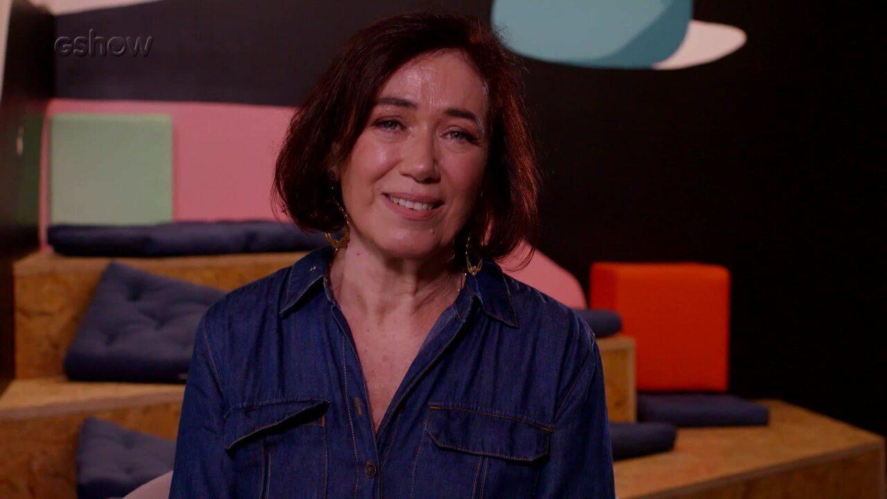 Lilia Cabral se emociona ao falar dos homenageados no Troféu Mário Lago