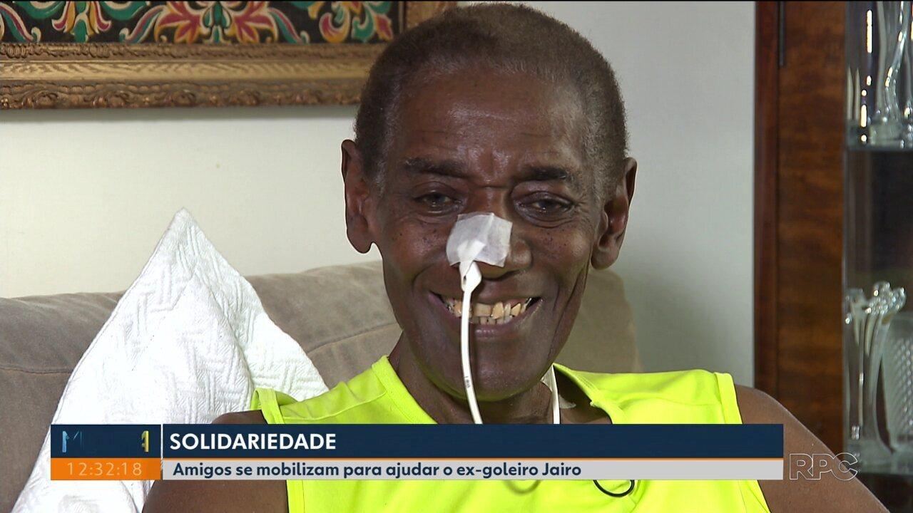 Campanha garante tratamento de câncer raro do ex-goleiro Jairo
