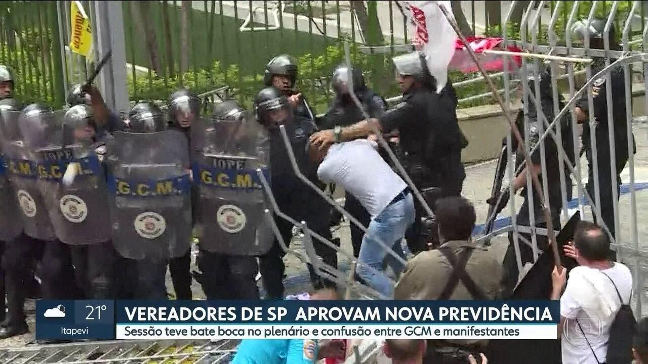 Vereadores de SP aprovam nova Previdência