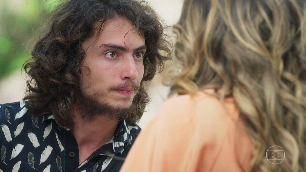 Leonardo filma Rita de Cássia novamente