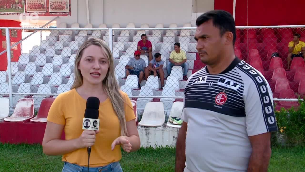 Técnico do 4 de Julho, Rossi avalia tempo curto de treinos até a estreia no Piauiense 2019
