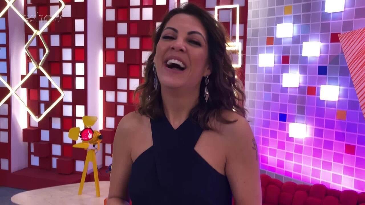 Thalita Rebouças fala sobre concentração e preparo para o 'The Voice Kids'