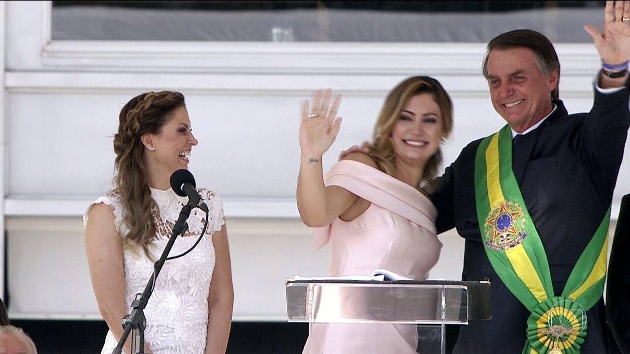 Primeira-dama Michelle Bolsonaro nasceu em Ceilândia (DF) e conheceu o marido na Câmara