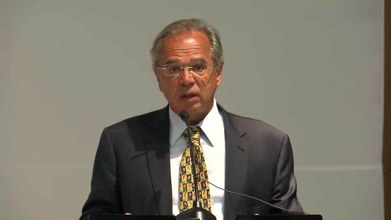 Íntegra do discurso do ministro da Economia, Paulo Guedes, durante transmissão de cargo