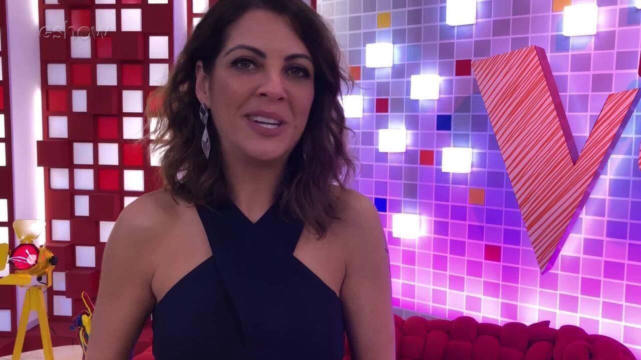 Thalita Rebouças fala sobre conhecer os participantes antes das audições às cegas do 'The Voice Kids'