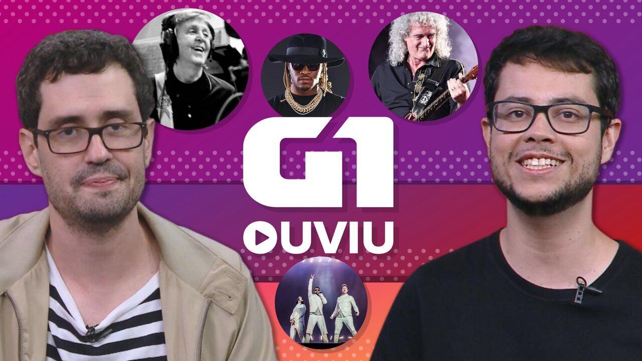 G1 Ouviu: Brian May espacial, Paul McCartney futurista e mais novidades musicais da semana
