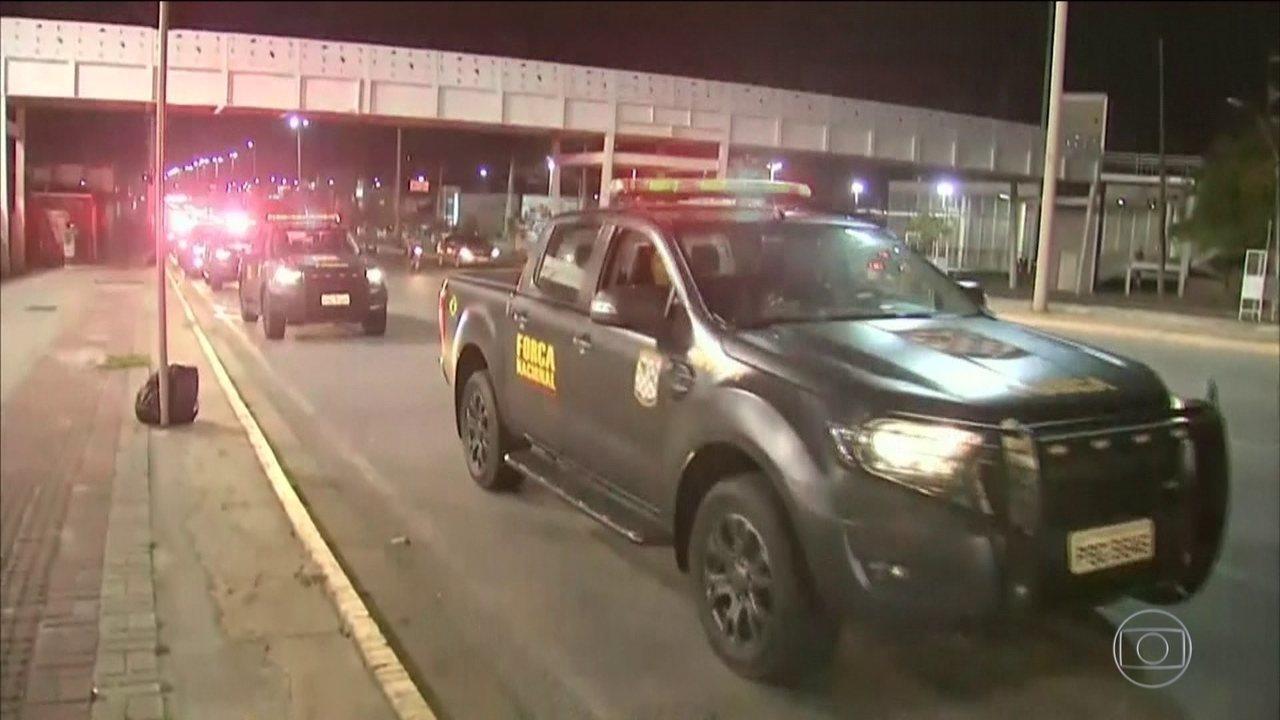 Força Nacional de Segurança começa a chegar ao Ceará para conter onda de violência