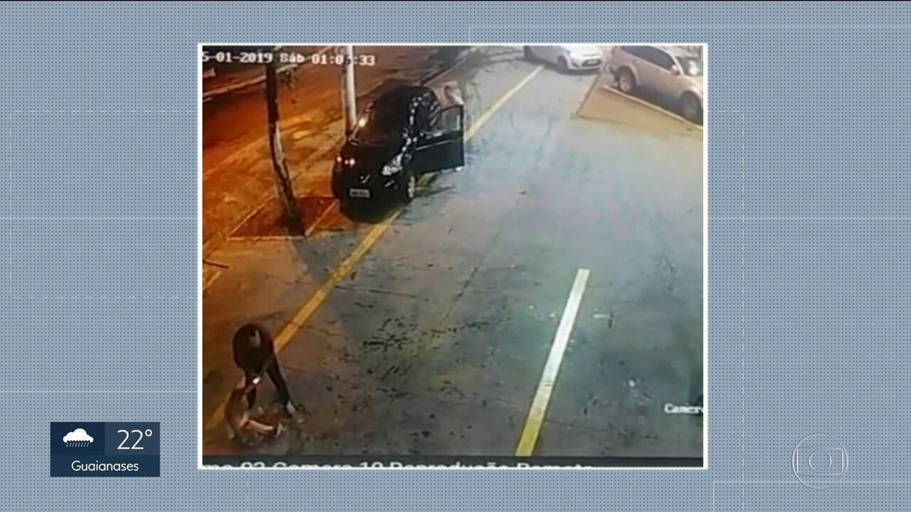 Motorista de aplicativo é preso depois de agredir a esposa na Zona Norte