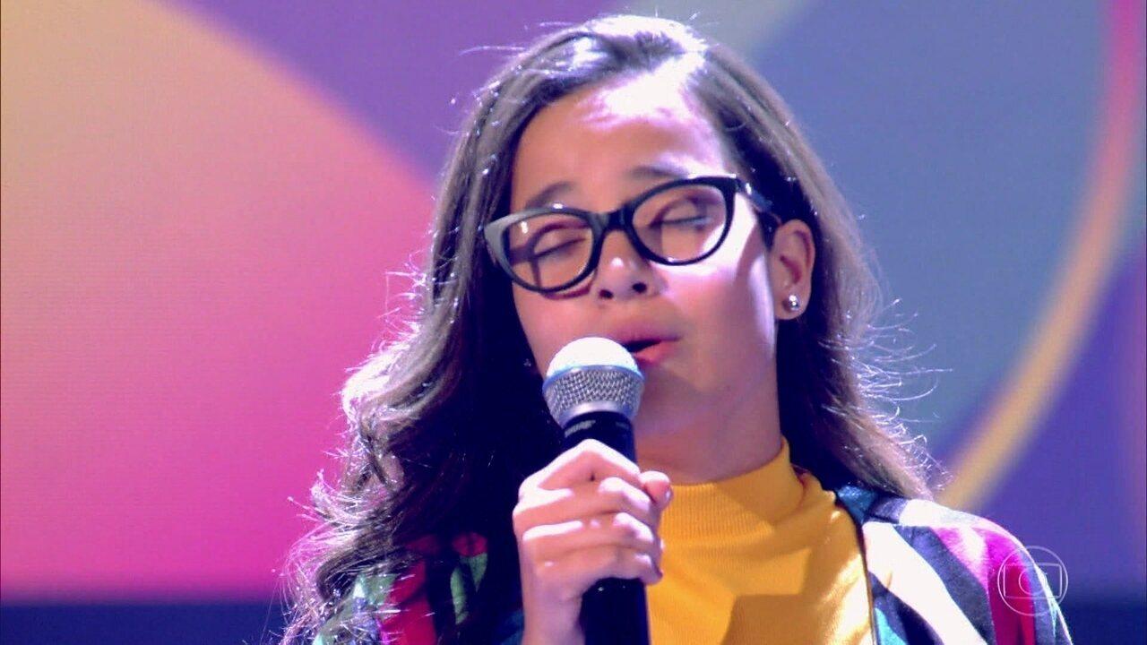 Malu Casanova canta 'If I Ain't Got You'