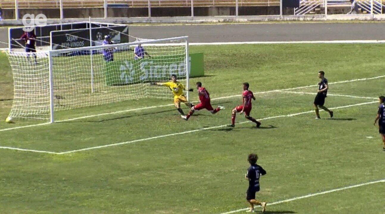River-PI marca aos 49 do segundo tempo e vence o Jaguariúna na Copinha 2019; veja os gols