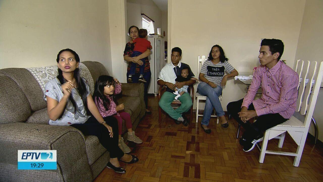 Venezuelanos refugiados são acolhidos por religiosos em São Carlos