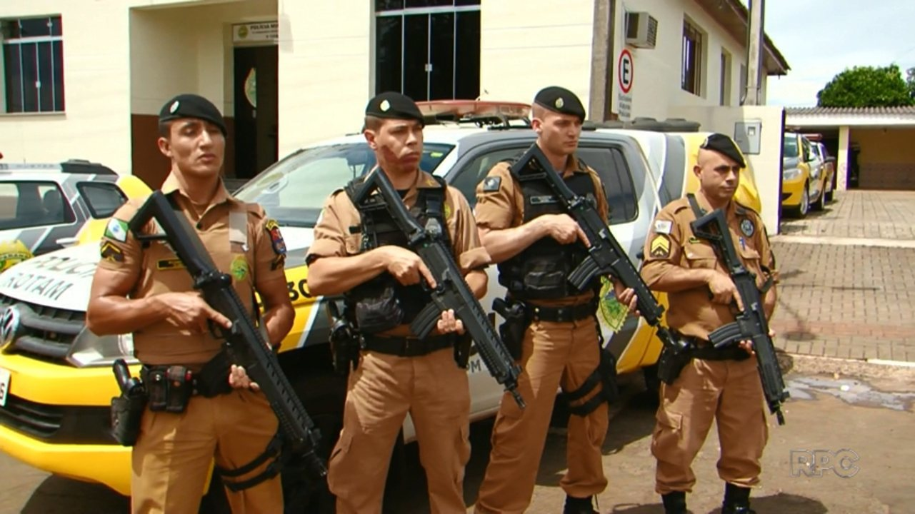 Comunidade compra armas para policiais de Pitanga