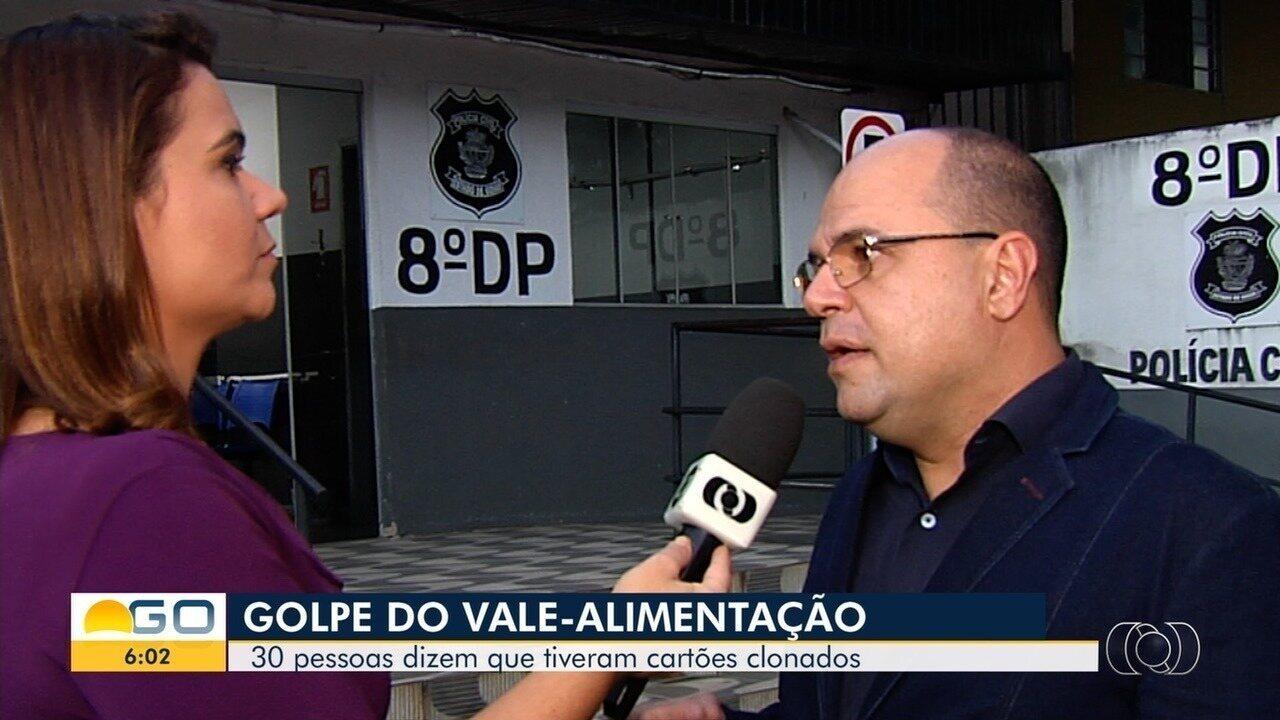 Polícia apura golpe com cartões de vale-alimentação, em Goiás