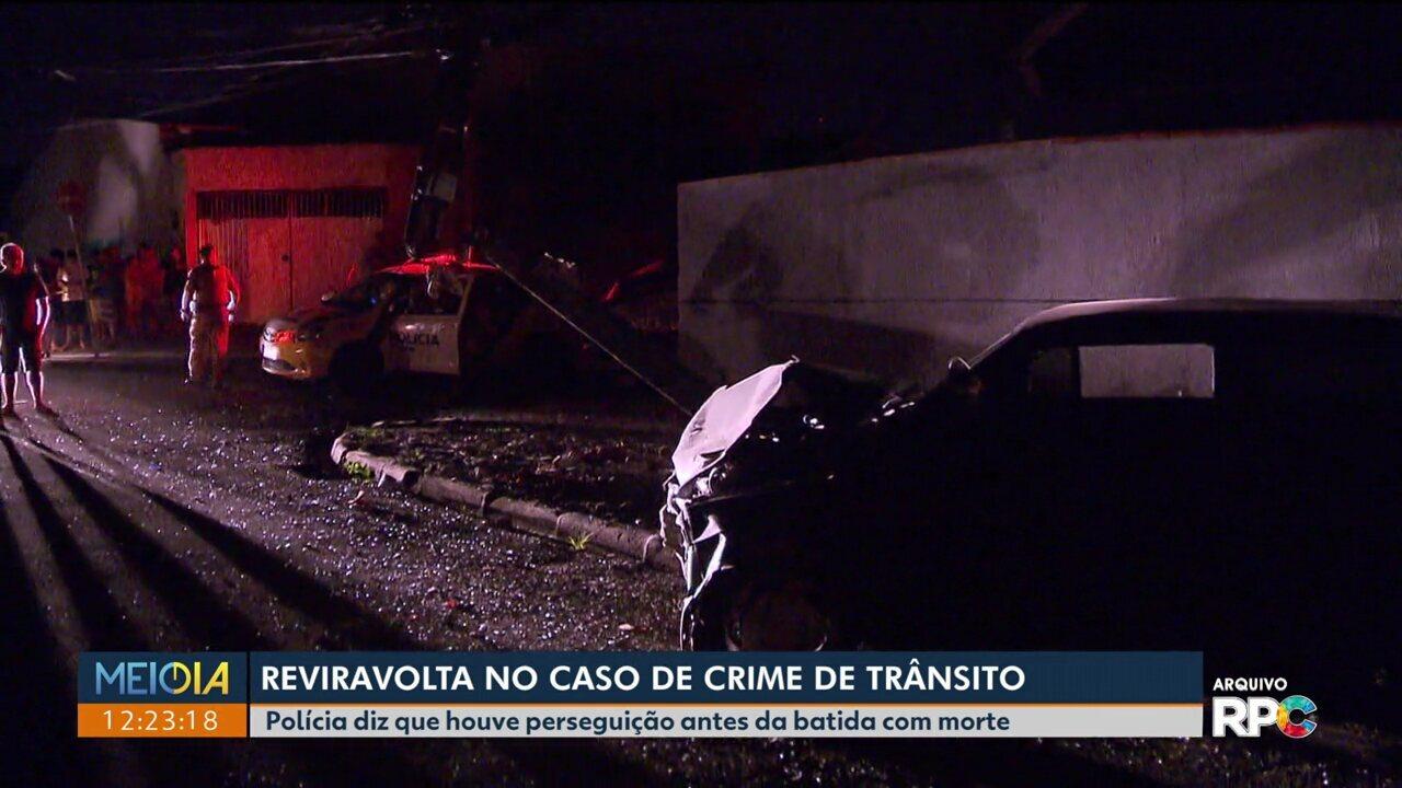 Muda a versão de um acidente com morte em São José dos Pinhais