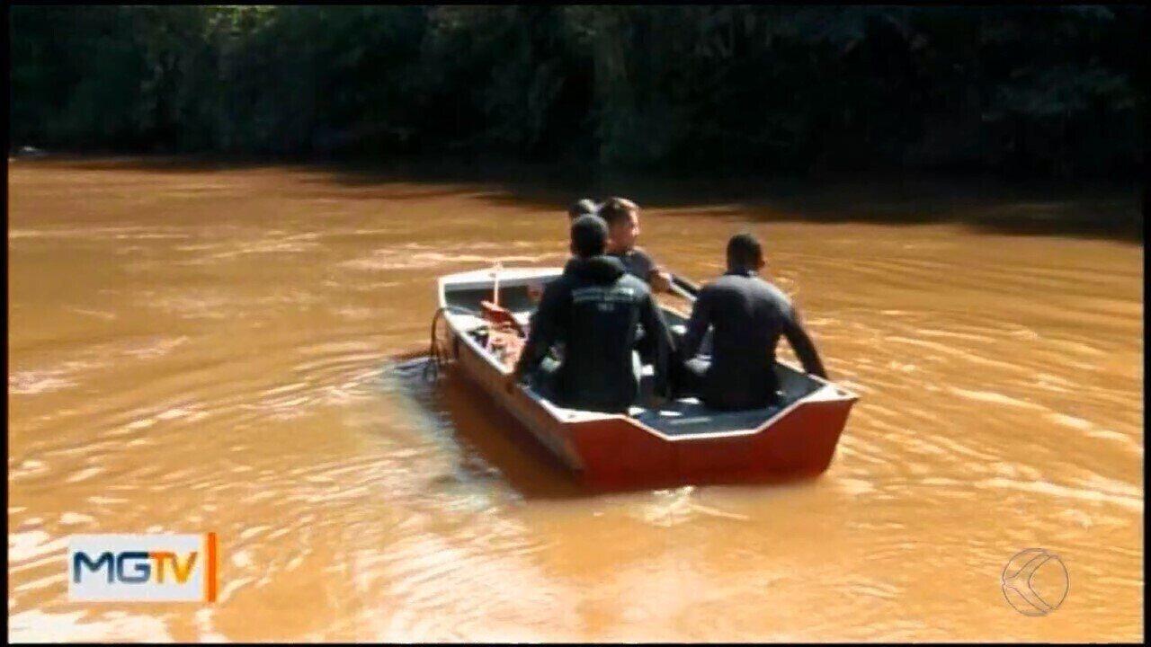 Bombeiros procuram adolescente que desapareceu no Rio Itapecerica em Divinópolis