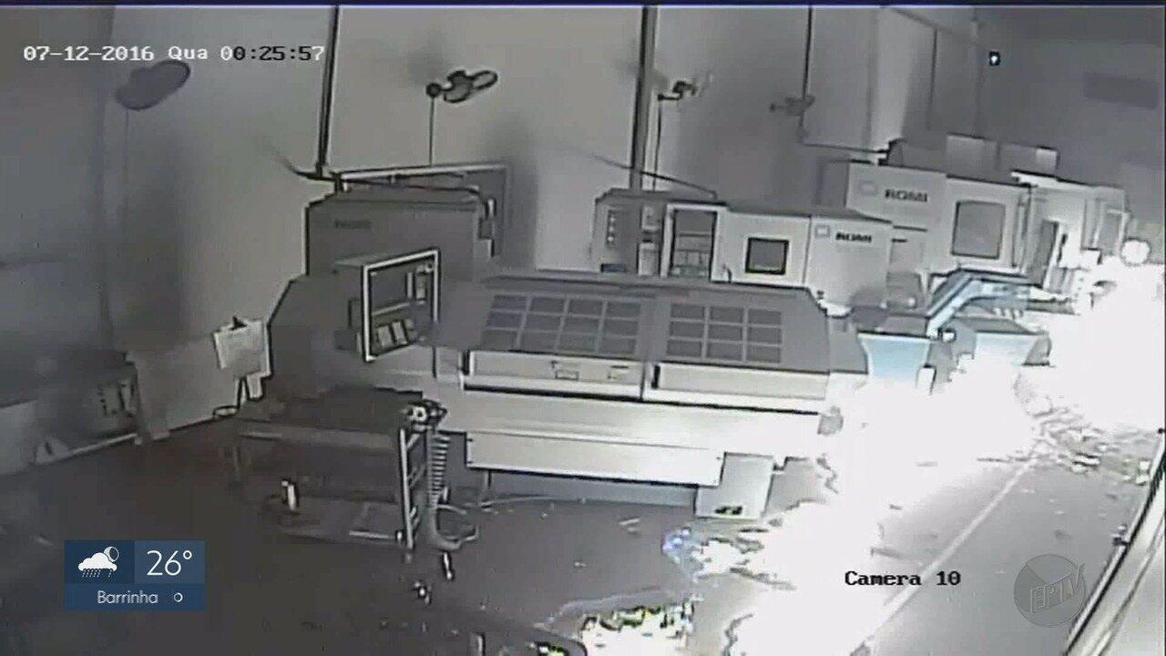 Empresário concorrente é suspeito por ataques a fábricas de materiais cirúrgicos, em Ribeirão Preto (SP).