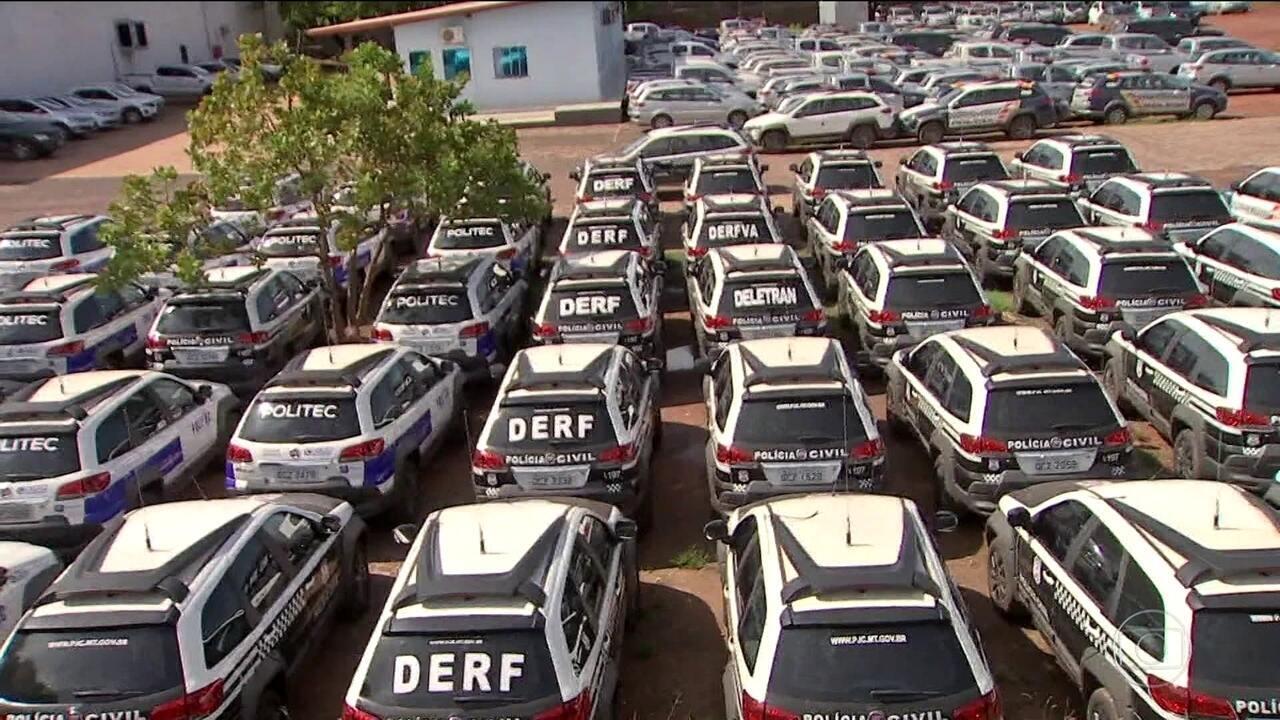 Crise financeira atinge o socorro médio e a segurança pública em Mato Grosso