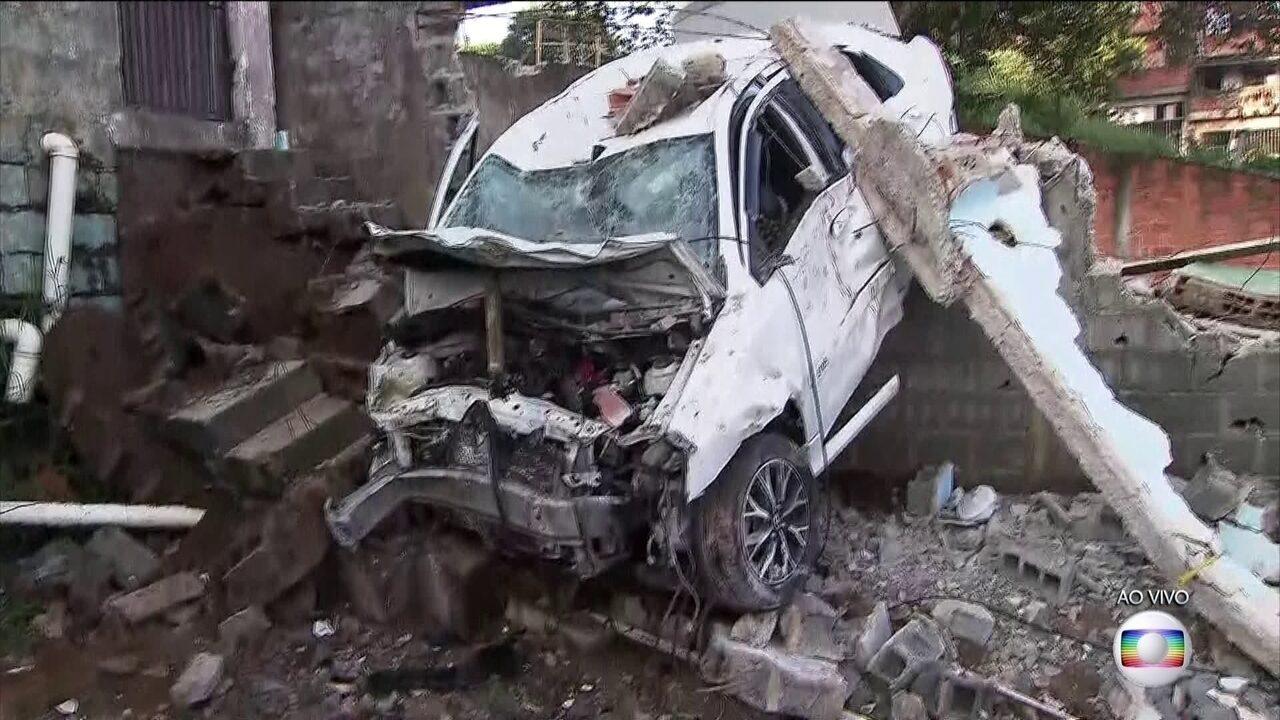 Taxista de 80 anos morre após grave acidente em São Paulo